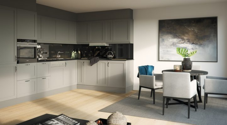 Bygg A2 - Kjøkken i 3. etasje