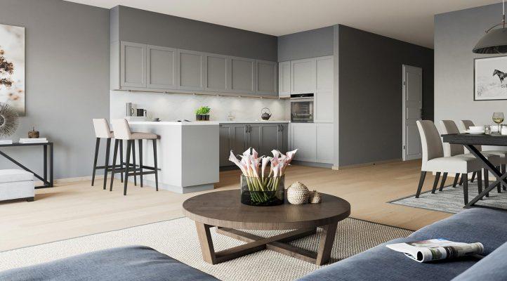Bygg A3 - Kjøkken i 5. etasje